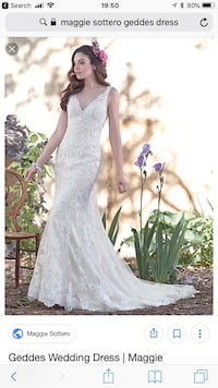 Maggie Sottero Geddes Wedding Gown