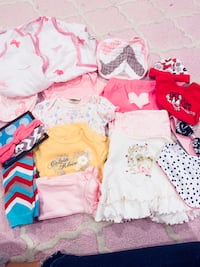 Bundle 17 Baby Girl clothes 0-3m Wilmington, 19804