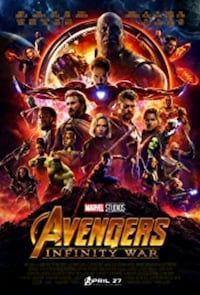 Marvel Avengers Infinity War poster Airdrie, T4A 2G2