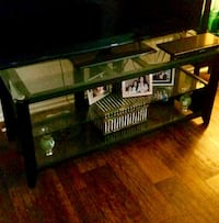 Glass and wood console table Los Angeles, 91403