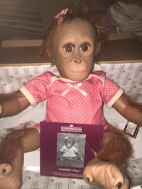 Antique monkey doll