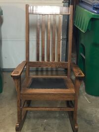 Oak rocking chair Tustin, 92780