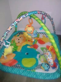 baby's green and blue activity gym Porterville, 93257