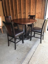 Counter Height Table and Chair