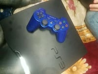blue Sony PS3 Slim with blue DualShock 3 Grand Rapids, 49548