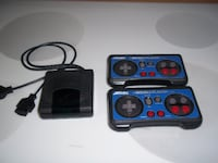 Akklaim Double Player NES  Wireless Controllers W/ Receiver Liberty