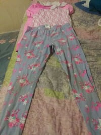 toddler's blue and pink floral pants Grove City, 43123