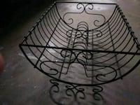 Antique Scroll Wrought Iron Dish Rack Decor? Modesto, 95350