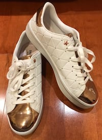 Skechers Street shoes white & rose gold