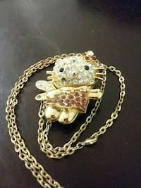 hello kitty chain and pendant Vancouver, V6B 0A8