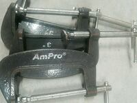 Ampro clamps 3inch (4) Deerfield Beach, 33441