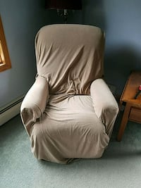 Small Recliner with Cover Moscow, 18444