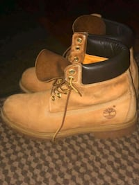 Tan - Authentic Timberland  work boots Ajax, L1T 4C9