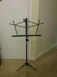Music playing stand