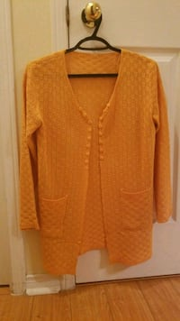 women's orange cardigan Toronto, M3H