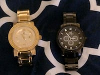 Super Techno 2 watch lot real diamonds Baltimore, 21213