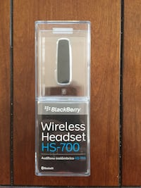 Blackberry Wireless headset...