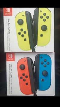 Nintendo switch joycons neon yellow and red and blue  Montebello, 90640