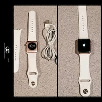 Apple Watch Series 1 38mm Aluminum Case Rose Gold! PRICE IS FIRM!