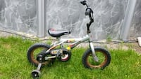 toddler's white and black bicycle Laval, H7G 3G6