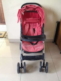 baby's black and red stroller Bengaluru