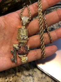 Simpson iced out necklace New Westminster, V3M