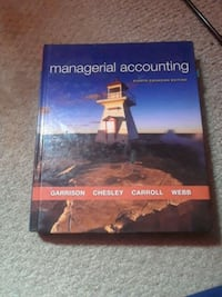 Managerial Accounting Textbook Richmond Hill, L4S 1L2