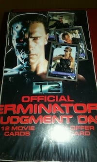 Full unopened box of To Terminator cards