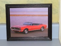 FRAMED CAMARO PICTURE Voorhees Township, NJ 08043, USA
