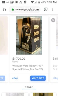 Star wars trilogy special edition vhs,20th centl Indianapolis, 46201