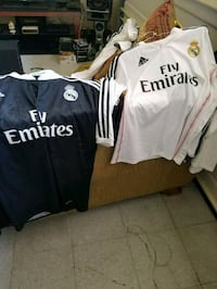 two black and white Adidas jersey shirts Moreno Valley, 92551
