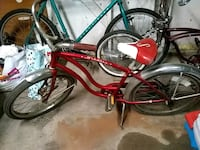 red and black cruiser bike Chicago Heights, 60411
