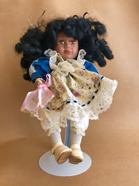 Vintage Porcelain Doll with Music Box Irmo, 29063