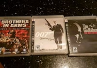 three PS3 game cases and one game case Edmonton, T6L 6T1