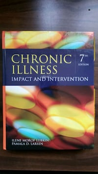 Chronic Illness textbook Toronto, M1S 2K6