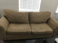 gray fabric 2-seat sofa Tampa, 33611