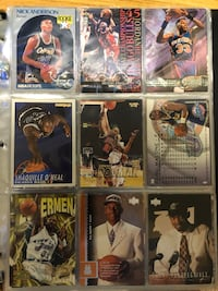 NBA/MLB SPORTS CARD ALBUM MICHAEL JORDAN BARRY BONDS (NEGOTIABLE)