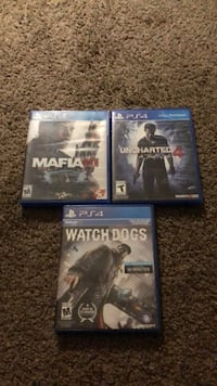 three assorted PS4 game cases Phoenix, 85037