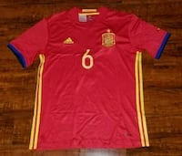 Spain home national jersey Iniesta size Medium Alexandria, 22310