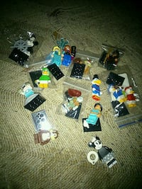 Disney lego minifigs series 2 5 each London, N5W 2Y8