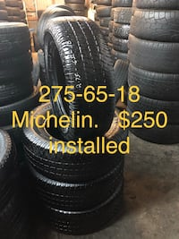 black and gray car tires Houston, 77093