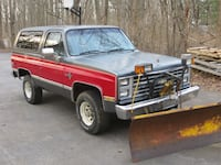 CHEVY K5 BLAZER 1987 w/ MEYERS PLOW West Chester