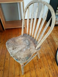 Old wooden project chair London, N6K 3X4