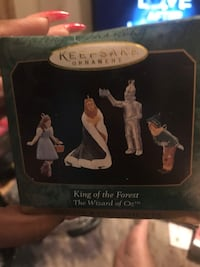 Wizard of Oz collectible Ornaments Catonsville
