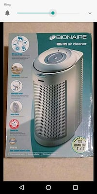 Air purifier. Nib For rooms upto 120 sq ft.10'*12 Fairfax