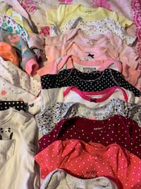 Baby girl clothes 2/3.00 each good condition! Fremont, 94536