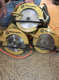 3 black and decker old skil saws Finksburg