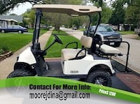 E-Z-GO Electric golf cart ridE WITH POWER