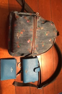 Coach mini backpack, wallet and ID case Bristow, 20136