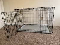 black metal folding dog crate Sacramento, 95816